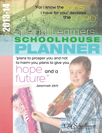 The 2013-14  Special Learners Schoolhouse Planner