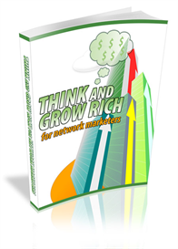 think & be rich for network marketers ebook