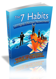 7 Habits of Highly Effective Networkers | eBooks | Business and Money