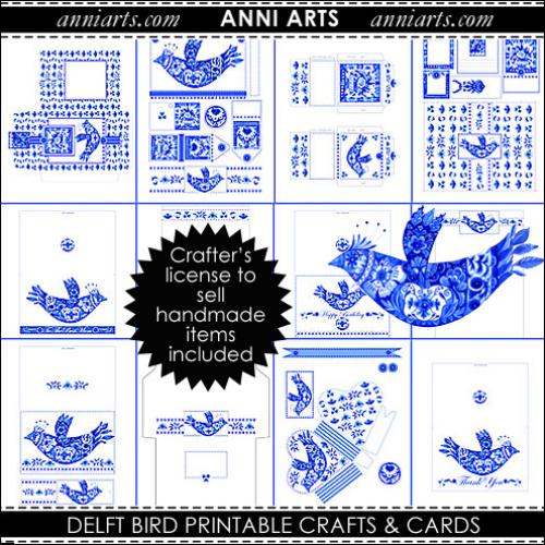 First Additional product image for - Delft Bird Combo PDFL