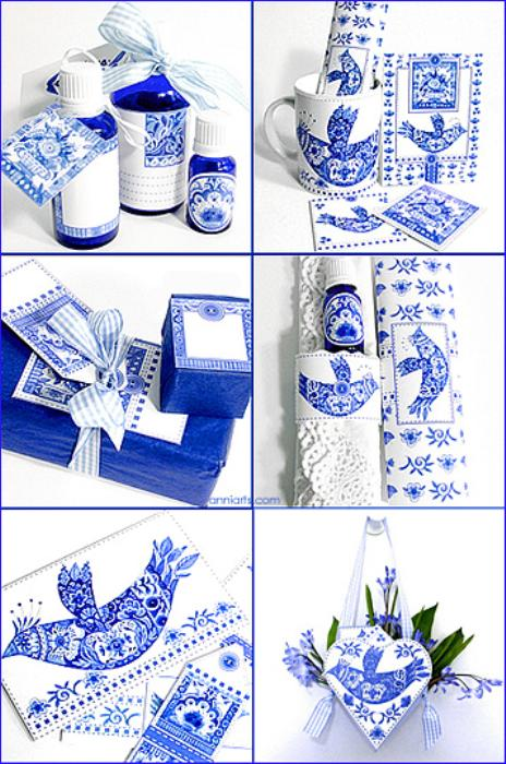 Third Additional product image for - Delft Bird Combo PDFL