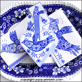 Delft Bird Combo PDFL | Crafting | Paper Crafting | Other
