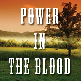 power in the blood backing track