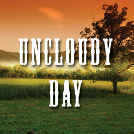 uncloudy day backing track