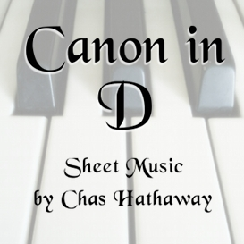 Canon in D Sheet Music | eBooks | Sheet Music