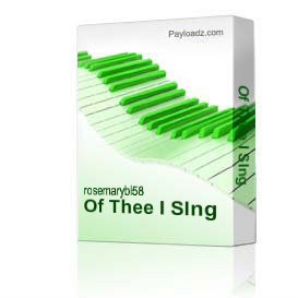 Of Thee I SIng | Music | Instrumental