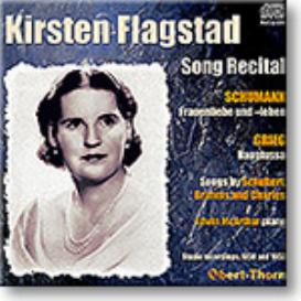 KIRSTEN FLAGSTAD Song Recital, 16-bit mono FLAC | Music | Classical