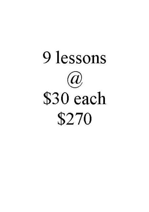 First Additional product image for - G 9 lessons