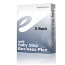 Baby Step Business Plan | eBooks | Business and Money