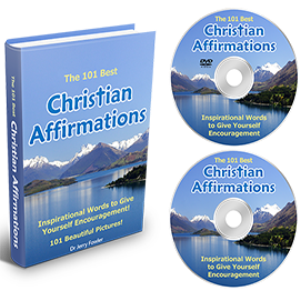 The 101 Best Christian Affirmations - EBook, MP3s, &amp; Video Downloads.  Inspirational Words to Give Yourself Encouragement.
