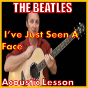 learn to play ive just seen a face by the beatles