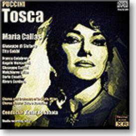 PUCCINI Tosca - Callas, di Stefano, Gobbi, La Scala, de Sabata, 1953 , Ambient Stereo MP3   Music   Classical