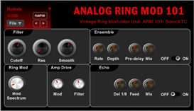 Analog Ring Modulator vst plugin demo