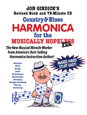 Country & Blues Harmonica for the Musically Hopelesse- book and cd | eBooks | Music