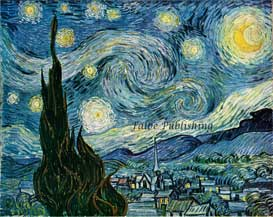 Starry Night by Vincent van Gogh high resolution jpeg | Photos and Images | Fine Art