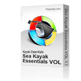 Sea Kayak Essentials VOL 1 Full DVD