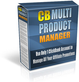 Clickbank Product Manager