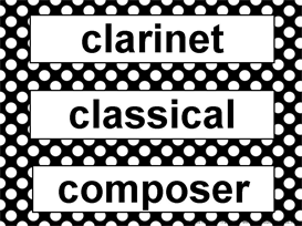 Music Word Wall Kit-Black and White Polka Dots | Other Files | Patterns and Templates