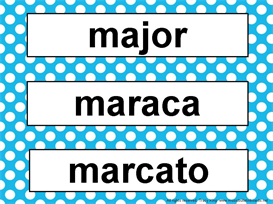 Music Word Wall Kit-Turquoise Polka Dots | Other Files | Patterns and Templates