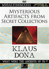 Klaus Dona - Mysterious Artifacts from Secret Collections - Megalithomania 2012 MP3 | Audio Books | History