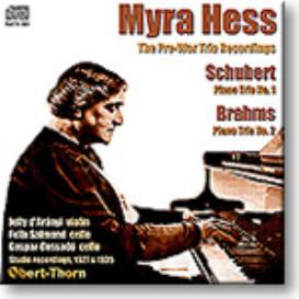 MYRA HESS The Pre-War Trio Recordings, mono MP3 | Music | Classical