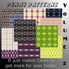 penny patterns - volume 2