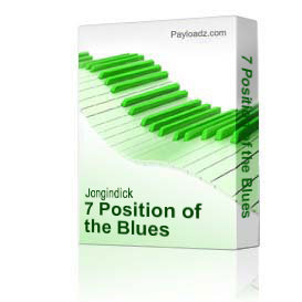 7 position of the blues