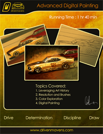 How to Draw Cars Now: Advanced Digital Painting