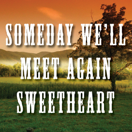 Someday We'll Meet Again Sweetheart Backing Track | Music | Acoustic
