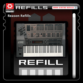roland jd800 jd 800 for propellerhead reason 4 5 6 7 refills refill rfl sample