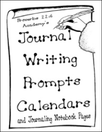 Proverbs 22:6 Academy's Journal Writing Prompts Calendars and Journaling Notebook Pages | eBooks | Education