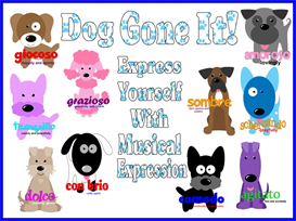 dog gone it bulletin board kit