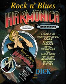 Revised, Rock n&#39; Blues Harmonica e-book and CD