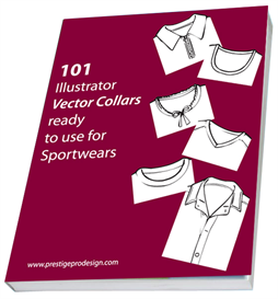 101 Illustrator Vector Collars | Other Files | Patterns and Templates