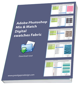 photoshop mix and match digital fabric