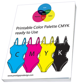 color palette cmyk.