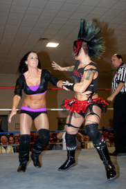 Ladies Pro Wrestling Santana Garrett vs. Christina Von Eerie