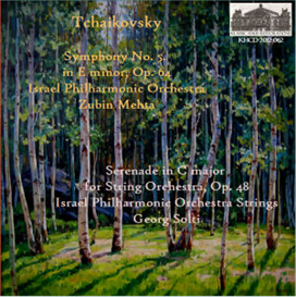 Tchaikovsky: Sym. No. 5; Serenade for Strings | Music | Classical
