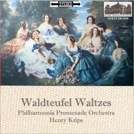 Waldteufel Waltzes: Les Patineurs; Mon Rêve; Estudiantina; Grenadiers; Pomone; España - Philharmonia Promenade Orchestra/Henry Krips | Music | Classical