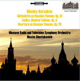 Rimsky-Korsakov: Sinfonietta/Sadko Tableau/Overture on Russian Themes | Music | Classical