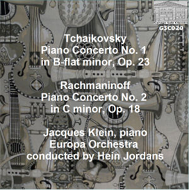 Tchaikovsky: Concerto No. 1 for Piano and Orchestra/Rachmaninoff: Concerto No. 2 for Piano and Orchestra - Jacques Klein, piano; Europa Orchestra/Hein Jordans | Music | Classical
