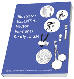 40 pages illustrator essential of 1000 novelty & embellishment