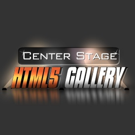 HTML5 Center Stage Gallery Component | Software | Design Templates