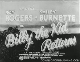 Billy The Kid Returns - Movie 1938 Western Comedy Download .Avi | Movies and Videos | Action
