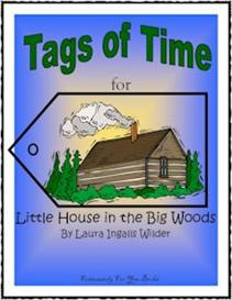 Tags of Time for Little House in the Big Woods | eBooks | Education