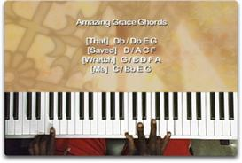 amazing grace for beginners piano