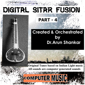 Digital Sitar Fusion Music Part - 4 | Music | New Age