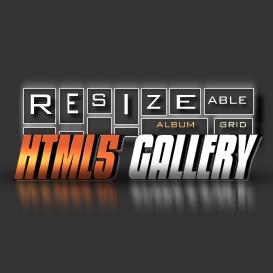 HTML5 Resizeable Grid Album Gallery - Developer License   Software   Design Templates