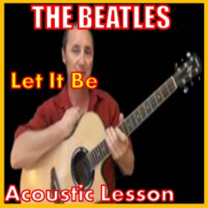 learn to play let it be by the beatles