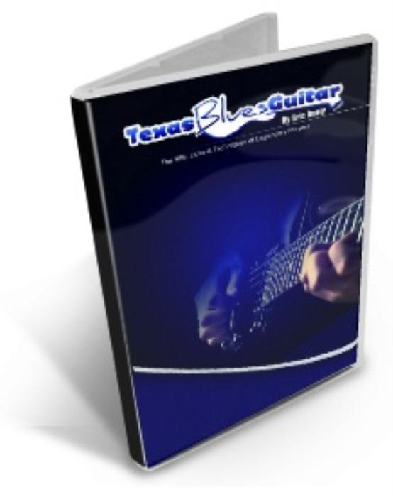 Second Additional product image for - Texas Blues Guitar Mini Course: 46 Texas Licks & Solos